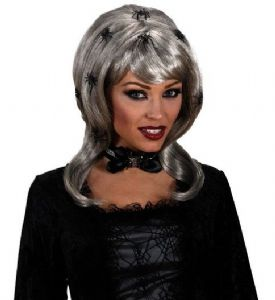 Spider Lady Wig with Spiders (5946)